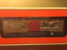 Lionel 6-26718 Gold Christmas Music 2000 Railsounds Boxcar