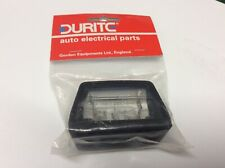 Duritc - Compact Black Plastic Number Plate Lamp - 0-453-52