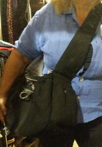 DOGO Buckle Tote Pet Carrier Sling Bag, Soft Canvas 💯 cotton, adjustable strap.