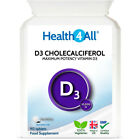 Health4All Vitamin D3 Cholecalciferol DOUBLE Strength 10,000iu Tablets 1 A DAY
