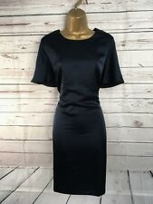 BNWT Forest Lily Party Midnight Dark Blue Pencil Dress UK Size 14 US 10 EU 40