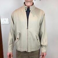 Tommy Bahama 100% Silk Luxurious Men's Full Zip Jacket Size: Medium EUC