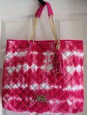 Juicy Couture Pink Tie Dye Large ANJA Tote YHRU3478 NWT