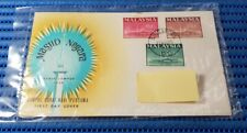 1965 Malaysia First Day Cover Masjid Negara Commemorative Stamp Issue