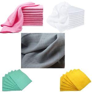 Premium Quality Baby Muslin Squares,Wash Cloth, Bibs Burp Cloths Cotton,70X70cm.