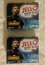 2 pks Jello Avengers Captain America Berry Blue Avengers Infinity War