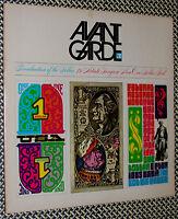 1968 Avant Garde Magazine, No.3, MAILER, WARHOL, NY Street Photos, Poster