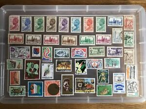 Ivory Coast stamps unchecked collection (cc735)