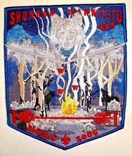 Shunkah Mahneetu Oa 407 Grand Teton Flap 544 Wolf Noac 2006 2-Patch Brotherhood