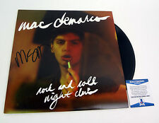 Mac Demarco Signed Rock And Roll Night Club Vinyl Record Album Beckett BAS COA