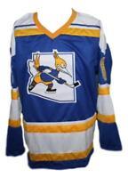 Custom Name # Phoenix Roadrunners Retro Hockey Jersey New Blue Ftorek Any Size