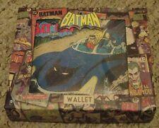 Cartera De Batman ~ ~ DC Comics en Caja de regalo de presentación ~ Go Robin ~ Excelente Designs