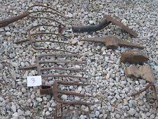 10 Vintage ? Used Assorted Pick Shovel Rakes Forks Garden Tools good for decor