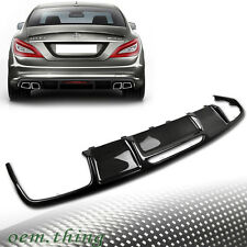 Carbon Mercedes Benz CLS W218 Sedan Rear Bumper Diffuser Sport 2014 Body Kit