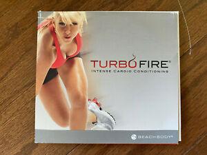Turbo Fire Intense Cardio Conditioning Beachbody DVD Exercise Series 5 Disc Set