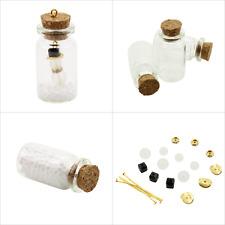 3 Stück Miniflaschen Bastelset mit Schneemann Weihnachten Geschenkanhänger Set