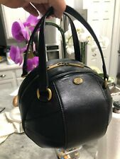GUCCI Black Leather Piuma Lux Energy Tote Baseball Handbag $1980 536110 New