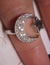 Champagne & White Diamond Ring Sz.7  41 diamonds .40tcw MSRP$824