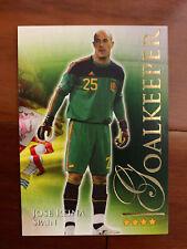 2010 Futera World Football Soccer Spain JOSE REINA MINT