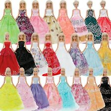 5x Random Wedding Party Dress Gown Accessories Clothes For 11.5 inch Doll Gift
