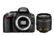 Nikon D5300 DSLR Camera Kit with Af-p 18-55mm VR Lens - Black