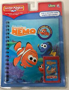 NIP 2006 Lector Magico Story Reader Finding Nemo Book w Cartirdge Spanish