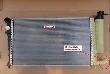 Radiator Peugeot 306 2Ltr M Clip Bottom Hose Manual 1998- Valeo Brand New