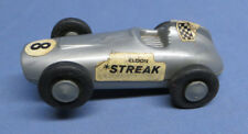 "Rare Vintage Eldon Streak #8 Slot Car Race Car 4 1/2"""
