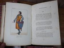 Bibliophile JACOB Costumes Historiques de la France 1852 8vol. 640 gravures Coul