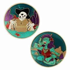Pirate Geocoin - Siren Song Geocaching Official Trackable