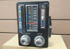 1967-1968 AMC AM FM Radio Ambassador Rebel Marlin F8SMR OEM Option WORKS VIDEO!