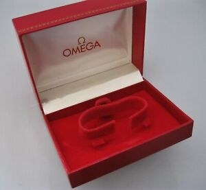 Genuine Vintage Late 1970's, Mans Omega Presentation Watch Box, Good Condition