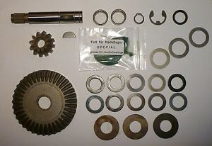 Teilesatz Ritzelsatz komplett für Getriebe vom Husqvarna RB150 Rasentraktor