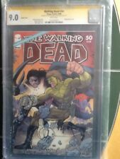 The Walking Dead #50 Wraparound Variant Cover CGC SS 9.0 Adlard & Ottley