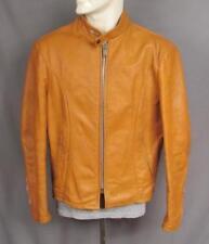 Abbigliamento e accessori vintage in pelle marrone anni 1960