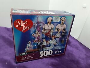 I Love Lucy Puzzle 500 Piece Talicor Jigsaw Puzzle Lucille Ball New 13x19 in.