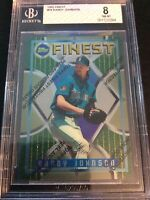 1995 Topps Finest #76 Randy Johnson Seattle Mariners BGS 8