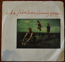 """A-ha – I've Been Losing You 7"""" – 28594-7 – VG+"""