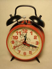 Disney 101 Dalmations Windup Wind Up Alarm Clock *Works*