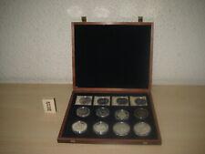 (968) Sammlung Münzen / Medaillen u.a. aus Silber , Olympiade , 10 Dollar , ...