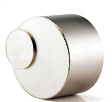 350 Lbs N52 Round D50 x 20 mm Neodymium Permanent Diameter Magnets 50mm x 20mm