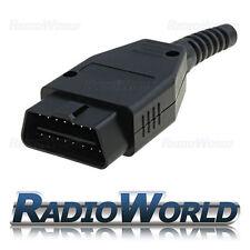 OBD Plug Male Terminal Block Plug Connector Repair Kit Set 16 pin