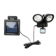 Solar Power LED Double End Motion Sensor Security Lamp Floodlight Spot Light NEW