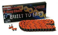 ZX14R Orange Chain 150 link-530 O-Ring Chain For Extended Swingarm Extensions
