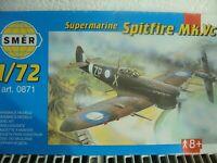 SMER Bausatz 0871 im Maß 1:72: Supermarine SPITFIRE Mk.Vc-RARITÄT!!