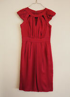 Monsoon size 8 Cherry Red Dress