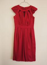 Monsoon size 8 Cherry Red Dress