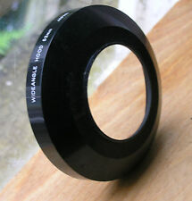 52mm Wide angle large metal screw in lens hood used 93 x 21