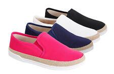 Markenlose Normale-Weite-(E) Damen-Turnschuhe & -Sneakers aus Textil ohne Verschluss