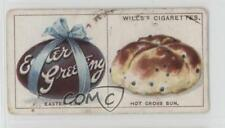 1922 Wills Do You Know #14 why we have Easter Eggs and Hot Cross Buns Card 1i3